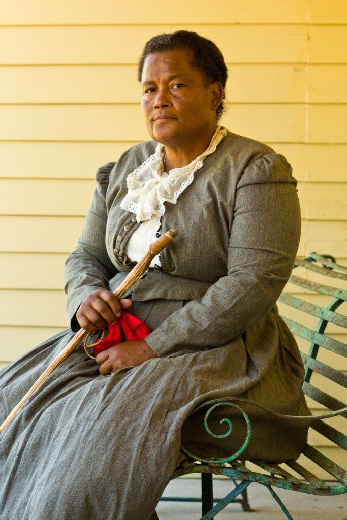 An optional Harriet Tubman costume